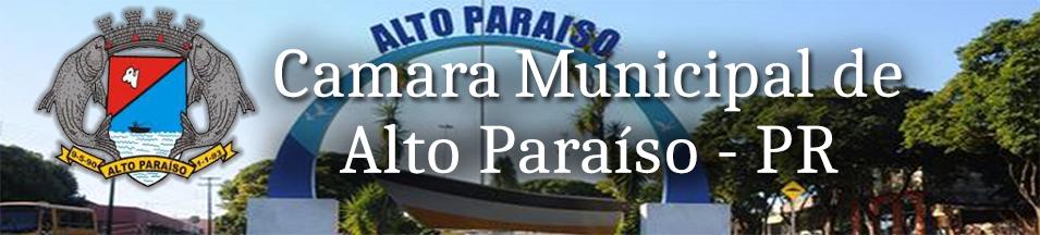 Câmara Municipal de Alto Paraíso – PR